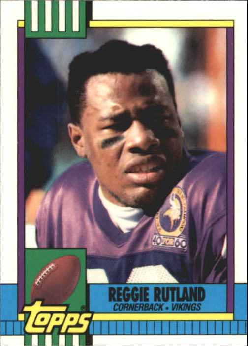 1990 Topps Tiffany #113 Reggie Rutland
