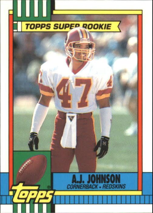 1990 Topps Tiffany #124 A.J. Johnson