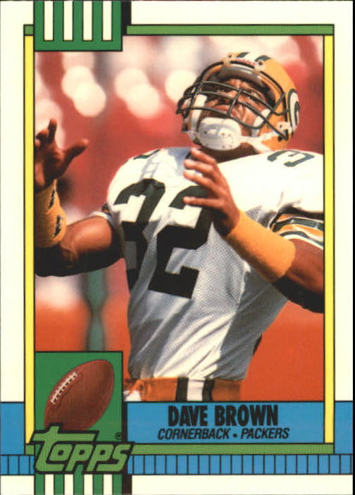 1990 Topps Tiffany #150 Dave Brown DB