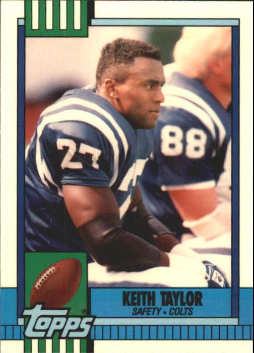 1990 Topps Tiffany #302 Keith Taylor