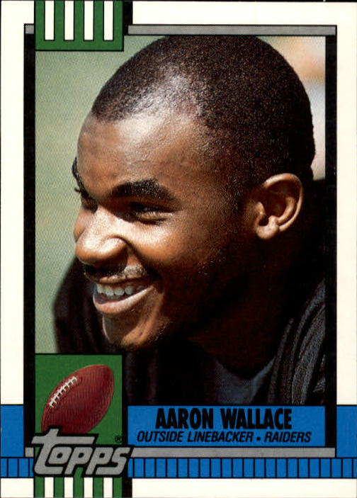 1990 Topps Traded #112T Aaron Wallace RC