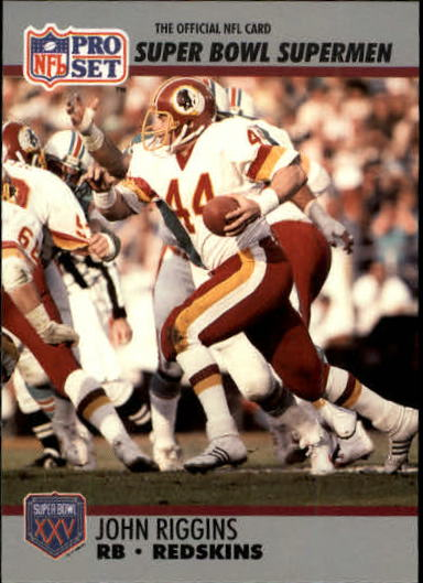 1990-91 Pro Set Super Bowl 160 #42 John Riggins
