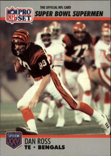 1990-91 Pro Set Super Bowl 160 #55 Dan Ross