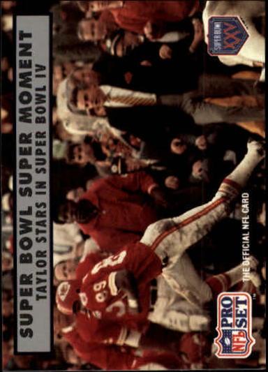 1990-91 Pro Set Super Bowl 160 #139 Otis Taylor