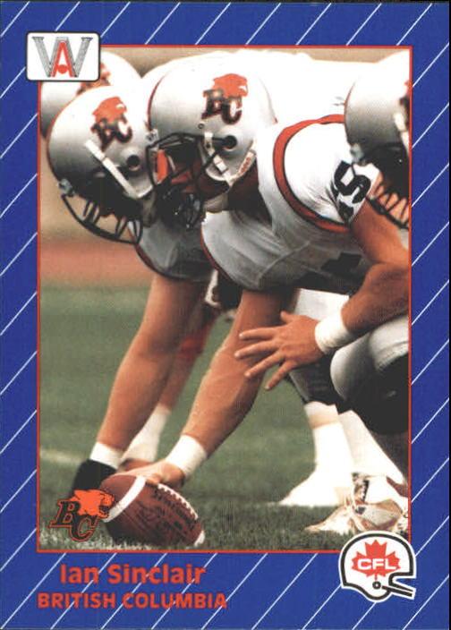 1991 All World CFL #13 Ian Sinclair