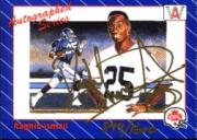 1991 All World CFL #NNO Rocket Ismail AUTO/1600