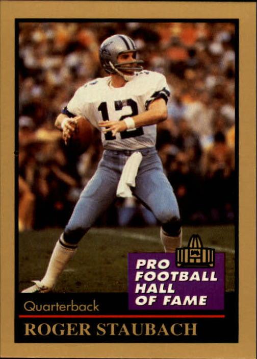 1991 ENOR Pro Football HOF #129 Roger Staubach
