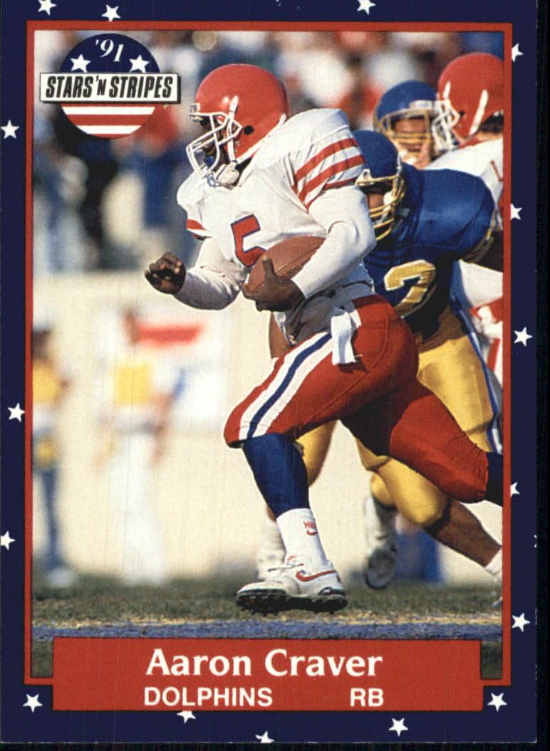 1991 Fleer Stars and Stripes #123 Aaron Craver