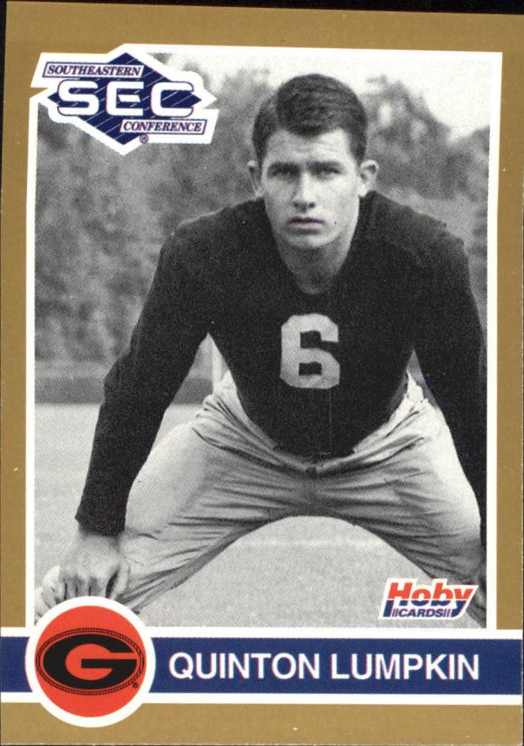 1991 Hoby SEC Stars #110 Quinton Lumpkin