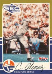 1991 Hoby SEC Stars Autographs #1 Carlos Alvarez