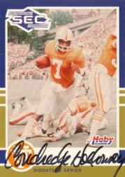 1991 Hoby SEC Stars Autographs #4 Condredge Holloway