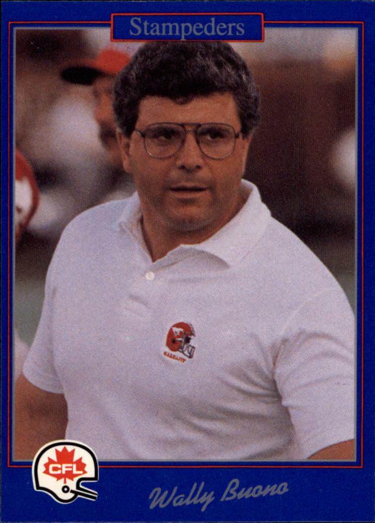 1991 JOGO #74 Wally Buono CO