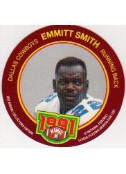 1991 King B Discs #7 Emmitt Smith