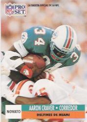 1991 Pro Set Spanish #273 Aaron Craver