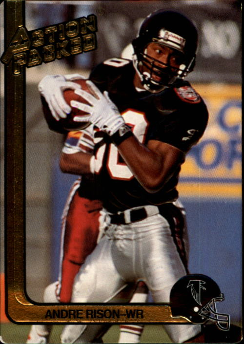 1991 Action Packed #7 Andre Rison