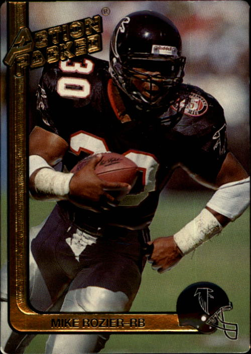 1991 Action Packed #8 Mike Rozier