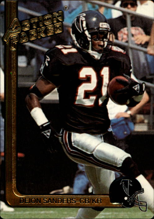 1991 Action Packed #9 Deion Sanders