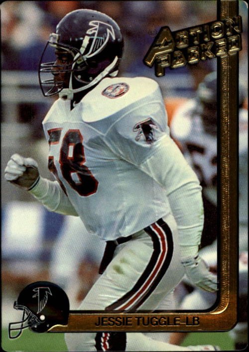 1991 Action Packed #10 Jessie Tuggle