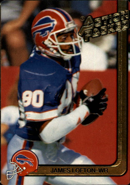 1991 Action Packed #15 James Lofton