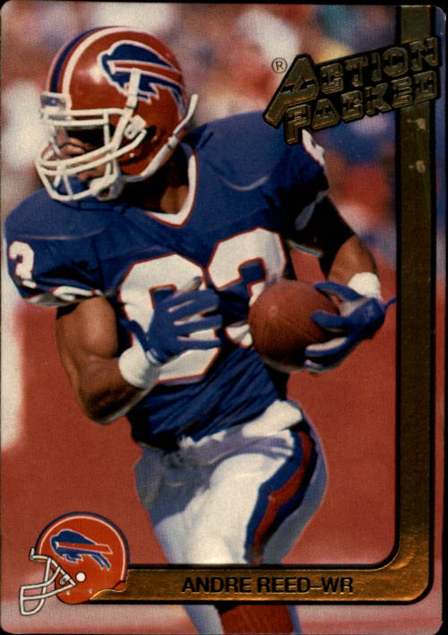 1991 Action Packed #16 Andre Reed