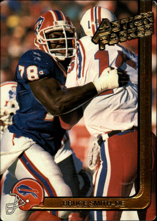 1991 Action Packed #17 Bruce Smith