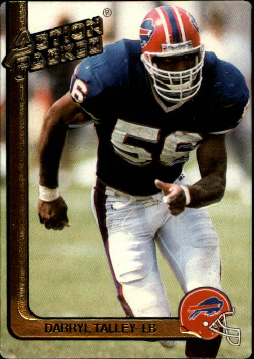 1991 Action Packed #18 Darryl Talley