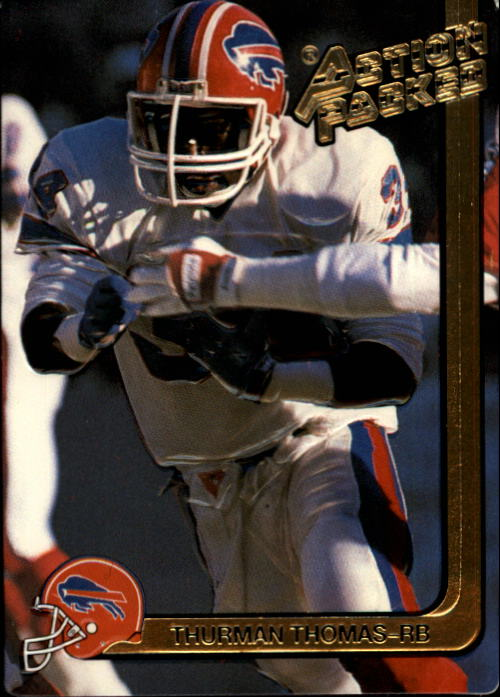 1991 Action Packed #20 Thurman Thomas