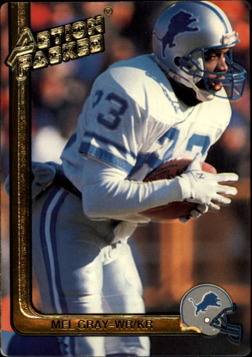 1991 Action Packed #75 Mel Gray