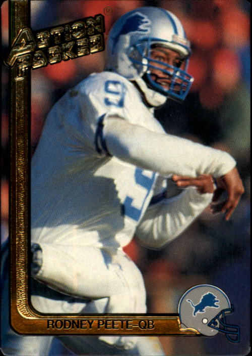 1991 Action Packed #77 Rodney Peete