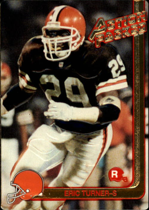 1991 Action Packed Rookie Update #2 Eric Turner RC