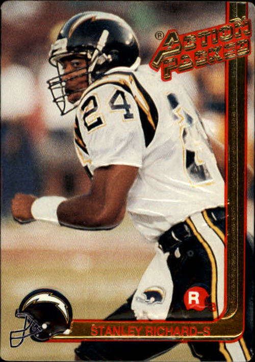 1991 Action Packed Rookie Update #5 Stanley Richard RC