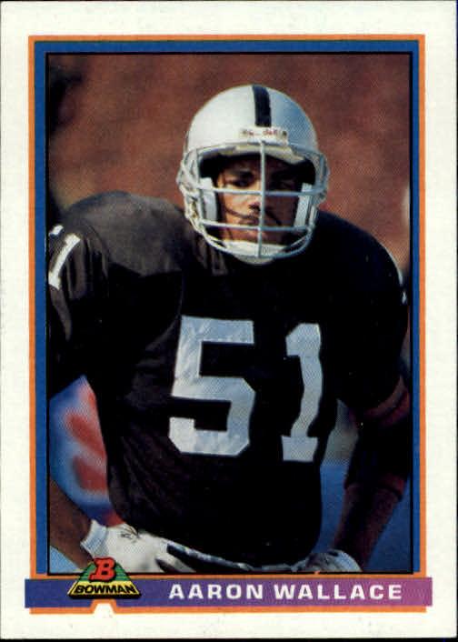 1991 Bowman #246 Aaron Wallace