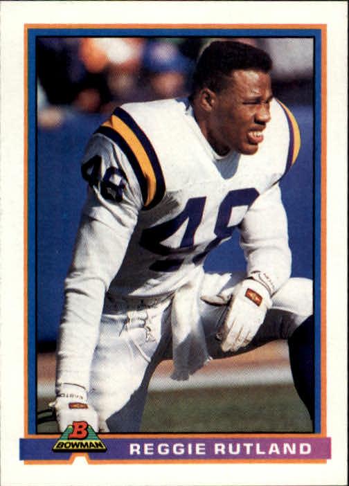 1991 Bowman #311 Reggie Rutland