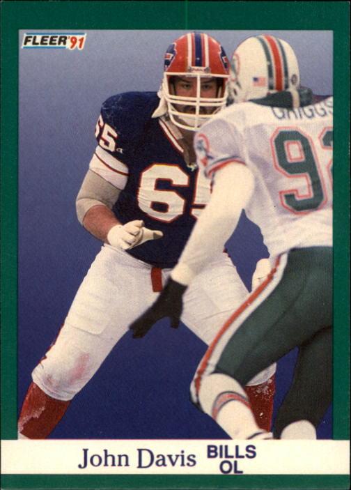 1991 Fleer #2 John Davis RC