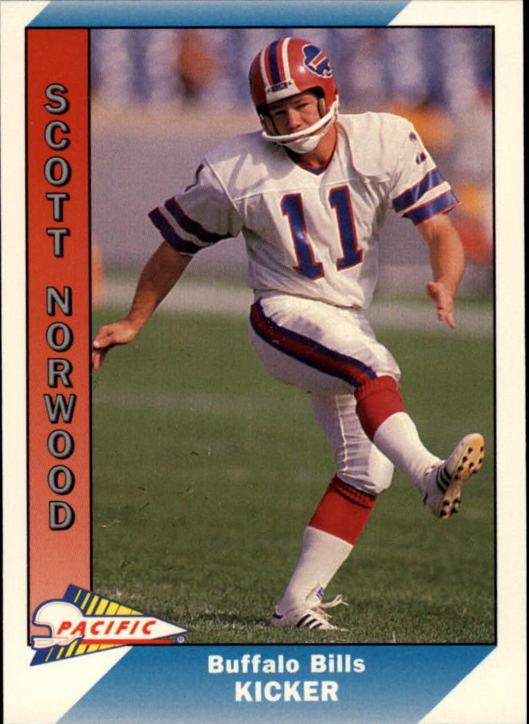 1991 Pacific #26 Scott Norwood