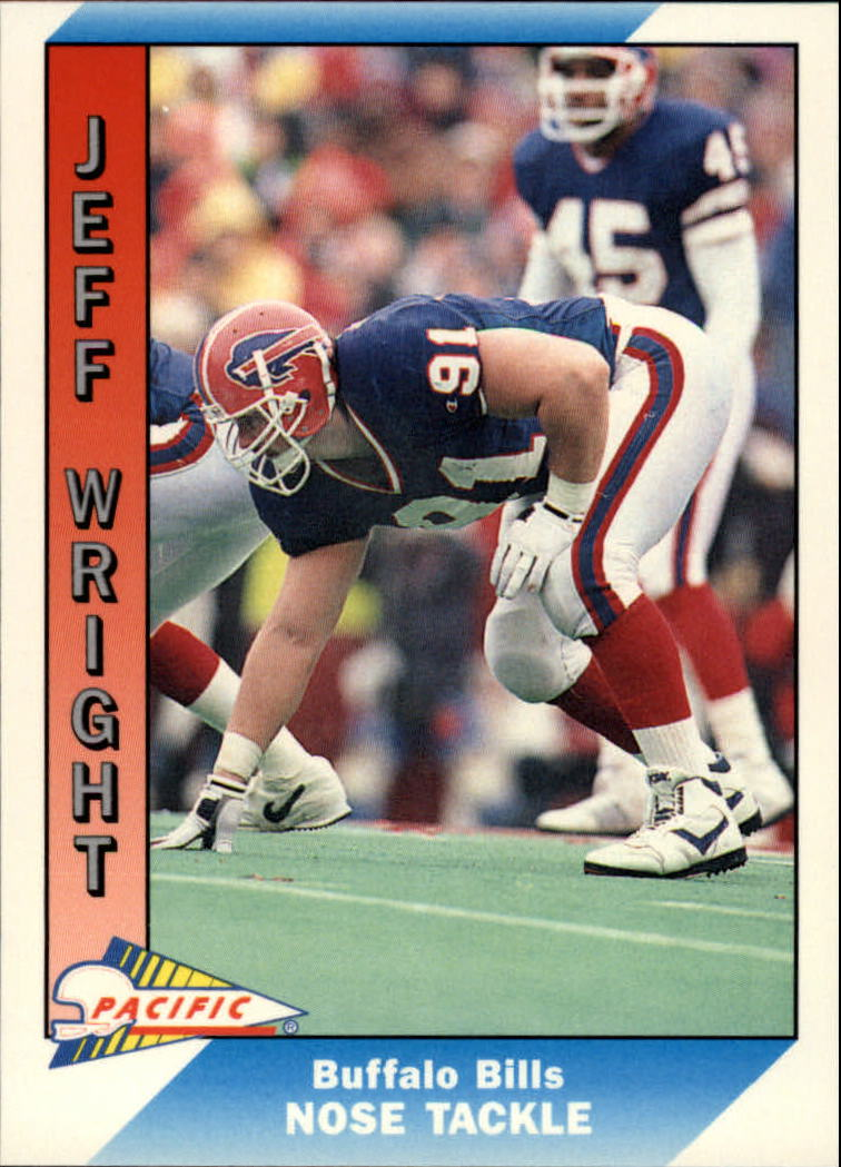 1991 Pacific #37 Jeff Wright RC