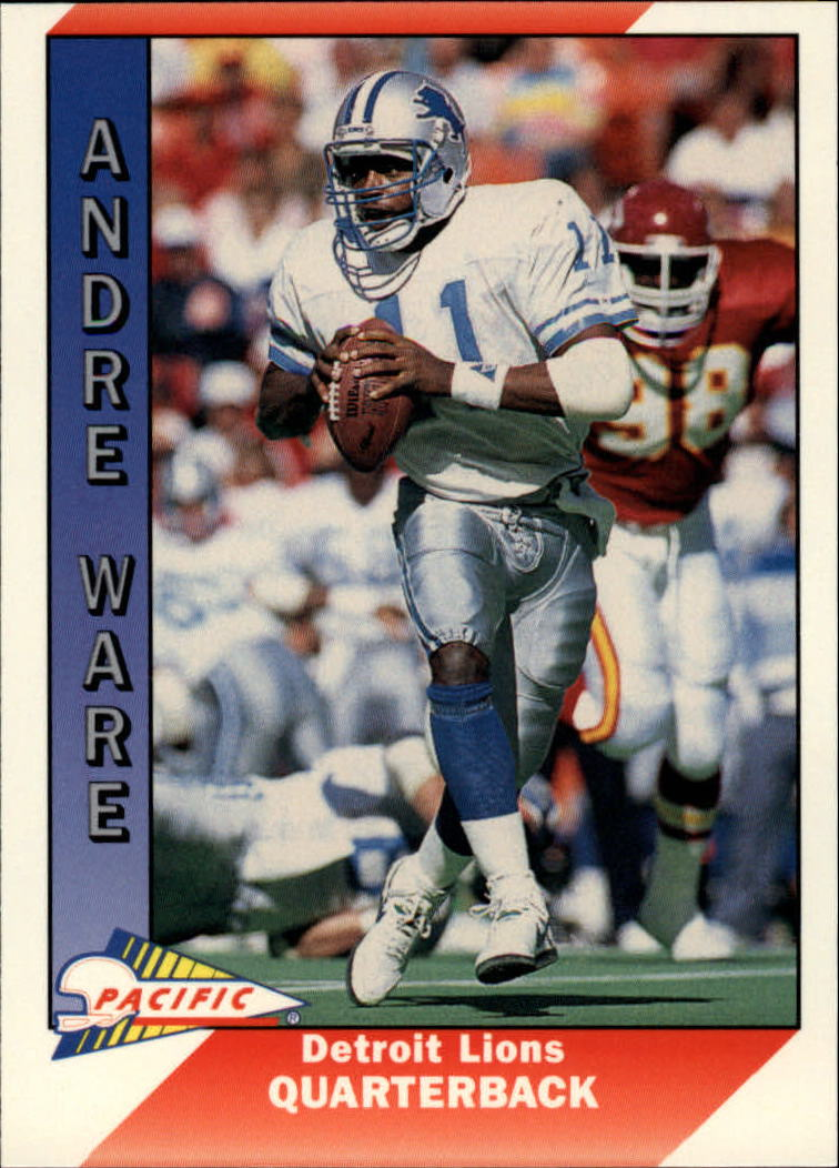 1991 Pacific #147 Andre Ware