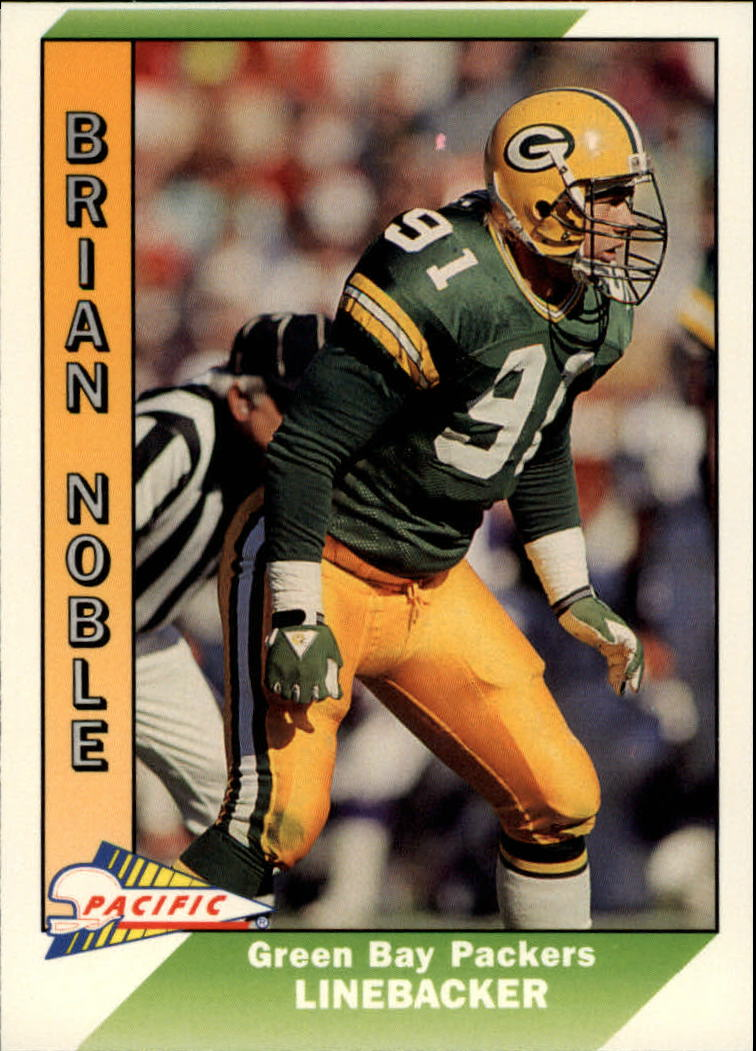 1991 Pacific #163 Brian Noble