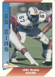 1991 Pacific #539 Ed King RC