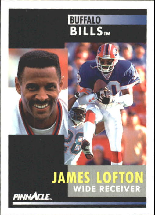 1991 Pinnacle #136 James Lofton