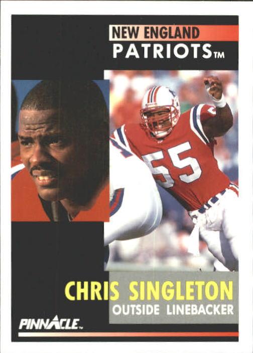 1991 Pinnacle #149 Chris Singleton