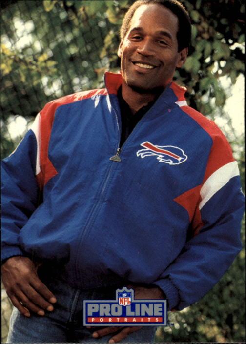 1991 Pro Line Portraits #28 O.J.Simpson RET