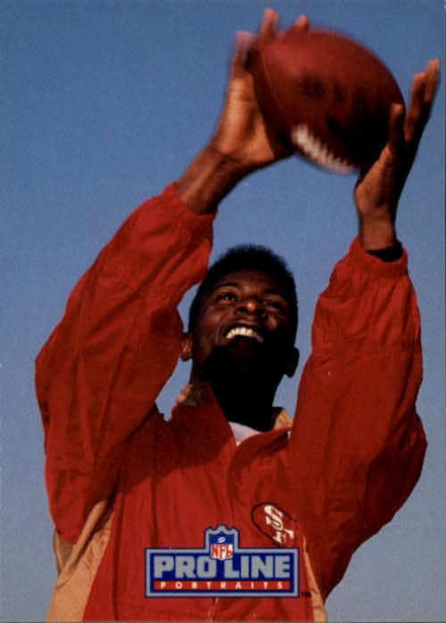 1991 Pro Line Portraits #201 Jerry Rice