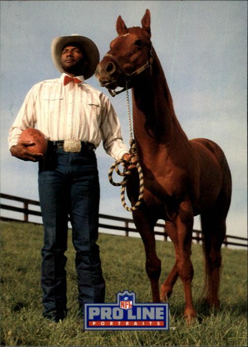 1991 Pro Line Portraits #204 Mel Blount RET
