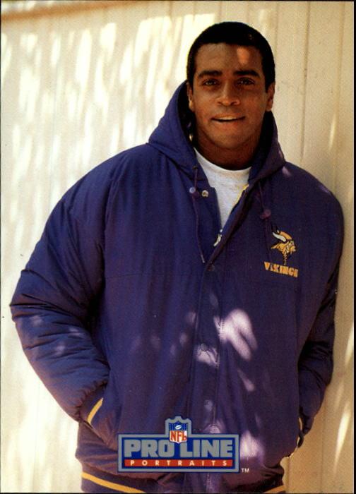 1991 Pro Line Portraits #290 Ahmad Rashad RET
