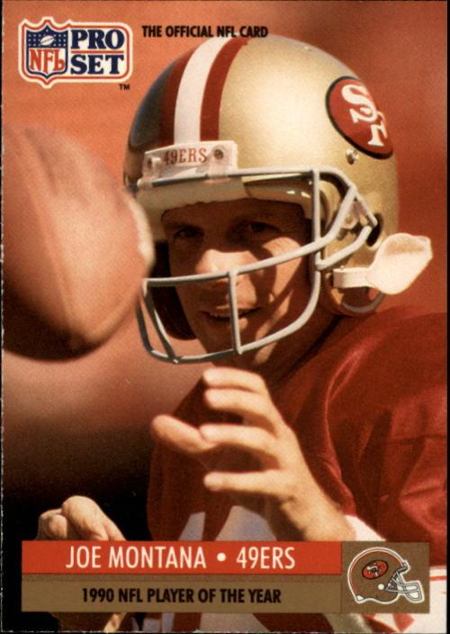 1991 Pro Set #3 Joe Montana/NFL Player of the Year