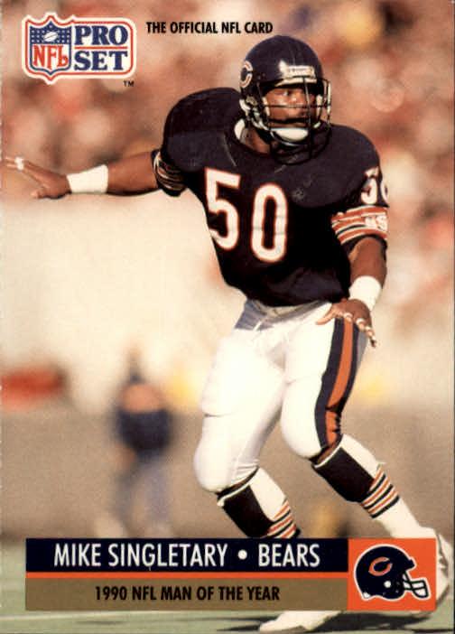 1991 Pro Set #5 Mike Singletary