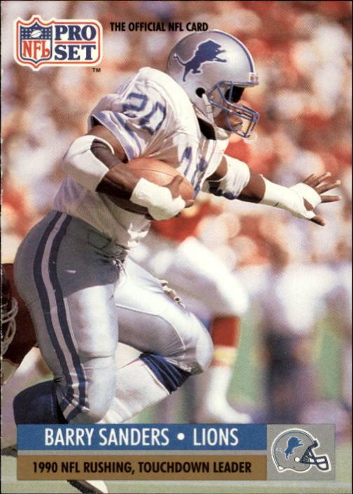 1991 Pro Set #10 Barry Sanders LL