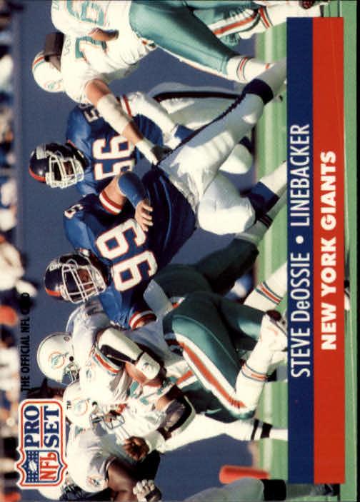 1991 Pro Set #58 Steve DeOssie