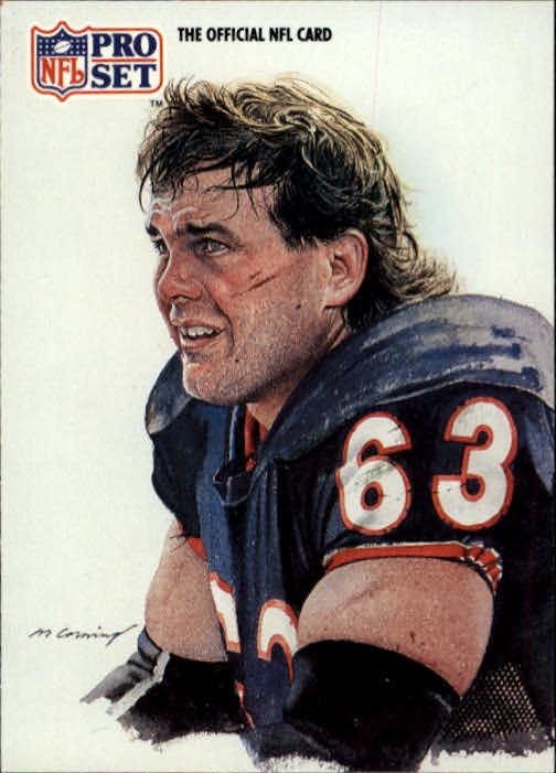 1991 Pro Set #385 Jay Hilgenberg NFC